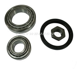 Front wheel bearing kit, 8/83-, not Syncro