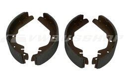 Brake cheeks kit, rear, 270x65, only syncro 16 inch