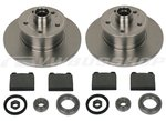 Brake disc, brake lining, wheel bearing kit, fixed caliper 79-9/83