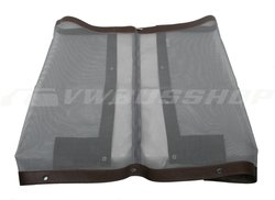 Tailgate mosquito mesh T2 brown with zip lock