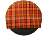 Cover for spare wheel Westfalia Orange-Red