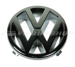 VW emblem, chrome, for 125mm radiator grill