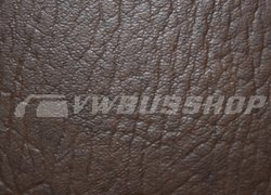 Artificial leather saddle brown, 140cm width